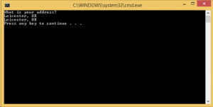 Windows Workflow Final Step